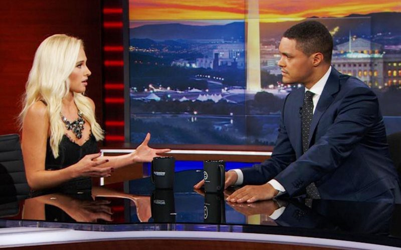Tomi Lahren on the Daily Show (via Twitter)