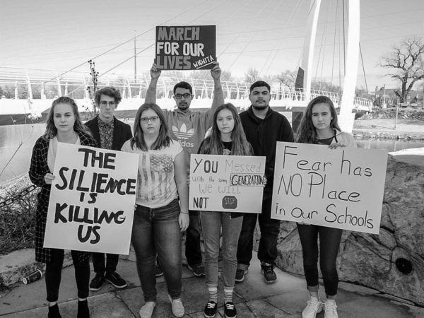 In Pro-Gun Kansas, Teenagers Are Marching For Their Lives