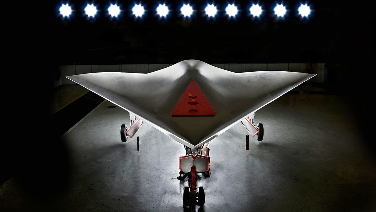 BAE Systems' Taranis autonomous drone demonstrator