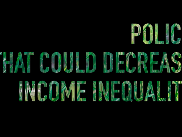 Here's How We Can Reduce Income Inequality